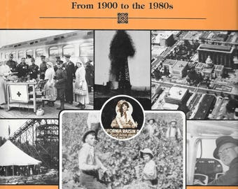 Fresno County (California) In The 20th Century From 1900-1980s.  VOLUME 2.  1986 1st Edition Hardcover Signed & Inscribed