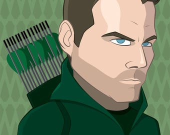 Green Arrow - Stephen Amell