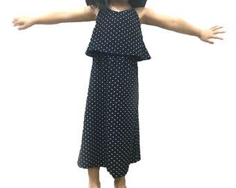 3T Girls dresses, Sun dress, Gift Present for Girls, 3T, 4T, girl's ruffle long dress, toddler clothes,Baby Clothing, Baby Girls