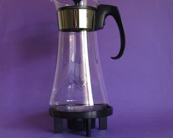 Mid Century Modern Pyrex 8 Cup Beverage Server - Atomic Brand New in Original Box Coffee Carafe
