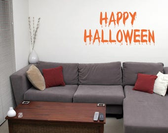 Halloween Happy Wall Decal