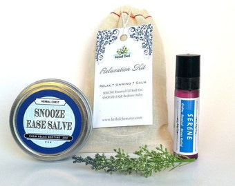 Relaxation Kit, Relaxation Gifts, Stress Relief Gift, Anxiety Relief Gift, Small Gifts, Self Care Kit, Mindfulness Gift, Sleep Balm, Roll On