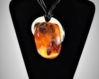 E. Salwierz Design Baltic Amber Necklace, 159 g