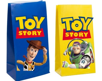 Toy Story Party Favor gift Bag ~ Toy Story Party Inspired Decorations & Decor
