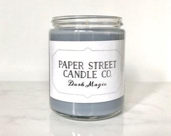 Dark Magic Elixir | soy wax candles | wizard candles | black pepper | citrus | vetiver