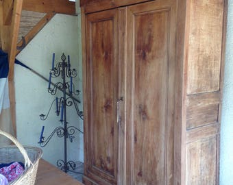 Lovely old French armoire