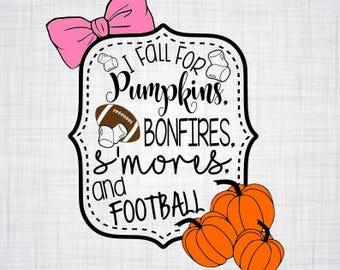 Fall SVG; Pumpkins; Football; I love fall; Shirt SVG; Shirt Decal; Cut File; Vector; Cricut cut file; Silhouette cut file; Cameo cut file;