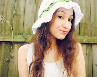 Crochet Shell Summer Hats
