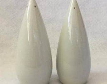 Mid Century Porcelain Salt and Pepper Shakers