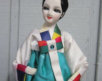 Vintage Doll from Korea