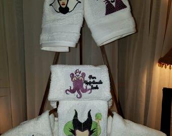 Female Villian Pack of Embroidery, Villian Applique, Villains Applique, Villains Embroidery, Villain Design