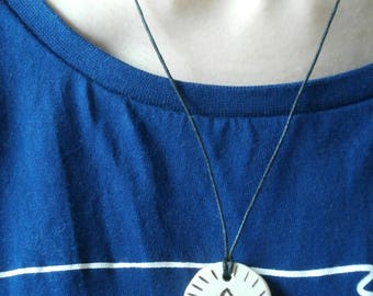 Willow wood Egyptian Ankh Symbol of Life Necklace + Pendant