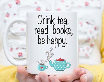 But First Tea, Tea and Books, Book Tea Lover Gift, Bookworm Gift, Drink Tea, Tea Lover Gift, Tea Drinker Gift, Librarian Gift, Librarians