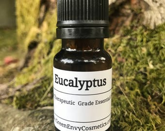Eucalyptus essential oil - therapeutic grade, aromatherapy, cold and flu, congestion,