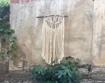 Modern macrame wall hanging, Boho Home Decor, Wall Tapestry, Home Decor tapestry, fiber art, textile art, gift idea, tissage mural, tapestry