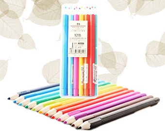 Colour Pens, 12 Colours, Painting, Drawing, Colourful, Stationery