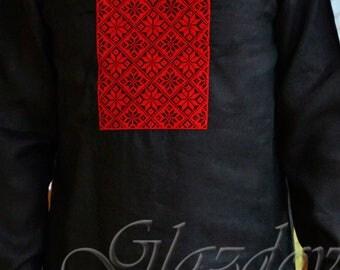 Ukrainian Embroidered Shirt, Ukrainian vyshyvanka, ukranian embroidery, vyshyvanka men, ukrainian clothing, ukrainian shirt