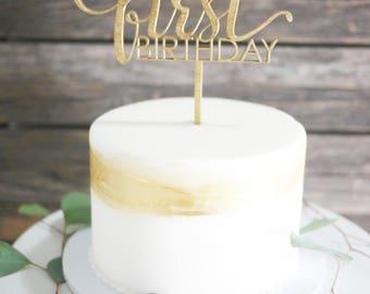 First birthday cake Etsy