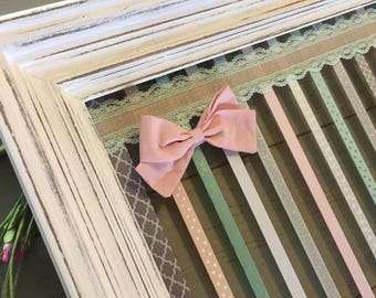 Hair Bow Holder, Baby Girl, Baby Shower Gift, Girl Nursery Decor, Hair Bows, Headband Holder, Hair Bow Organizer