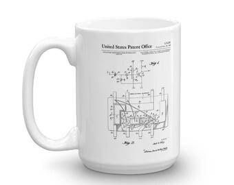 Integrated Circuit Patent Mug - Patent Mug, Old Patent Mug, Integrated Circuit Mug, Vintage Computer, Geek Gift, Computer Mug