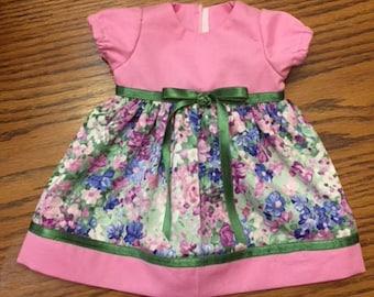 "15"" Doll Dress, 15"" Bitty Baby Dress"