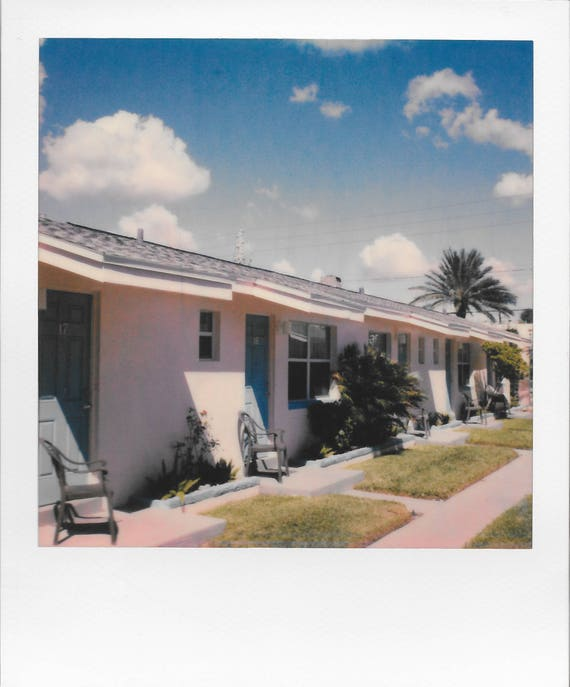 Floridaesthetics / Vintage Style Original Polaroid by Dan Bell