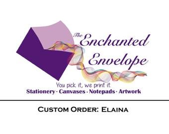 CUSTOM LISTING: Elaina, Logo Design, Custom labels, Custom Stickers, Custom Logo, Business Cards, Business Card Design, Custom Logo Design