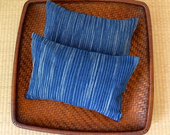 A Set of Two Organic Buckwheat Hull Travel/Support Cushions - SC4
