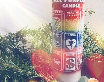 Reiki Infused All Purpose Candle