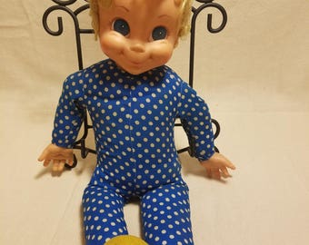 """Vintage 1960's Mrs Beasley Doll from """"A Family Affair"""" TV Show Buffy's Doll"""