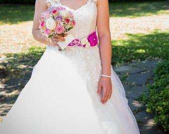 Detachable Bridal Sleeve #37, Detachable Bridal Straps, Ivory Detachable Sleeve, Custom Bridal Lace Sleeves, Custom Wedding Sleeves