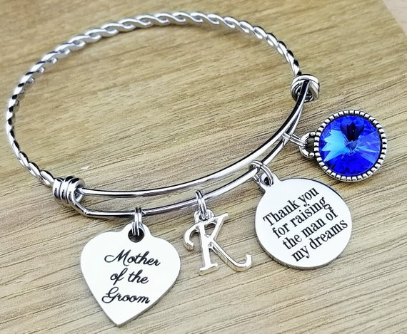 Mother of the Groom Gift Mother of the Groom Bracelet Mother of the Groom Jewelry Mother of the Groom Gift From Bride Thank You for Raising