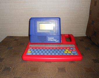Vintage VTech Talking Whiz Kid Laptop System (22 Activities) Computer Virtual Learning Educational 90s