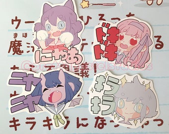 Manga Characters - Original art stickers