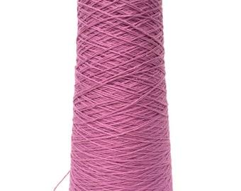 SAORI Yarn on Cone - Orchid - Cotton - Weaving Arts Austin