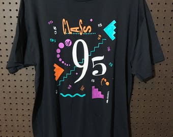 Class of 1995 Vintage Shirt Large 90s Screen Stars