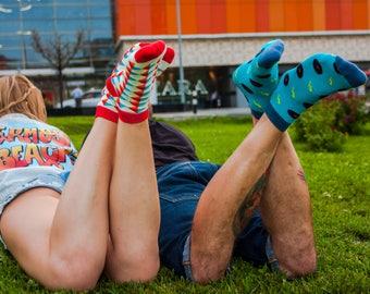 Nietsche | Funny Socks | Socks | Men Socks | Women Socks | Zesox | Cool Socks | Cute Socks | Kawaii Socks | Smart | Wedding Socks | Summer