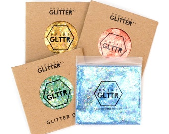 Festival Glitter Gel Set for Face, Body & Hair (Circus collection)