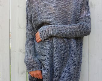 Bulky knit sweater | Etsy