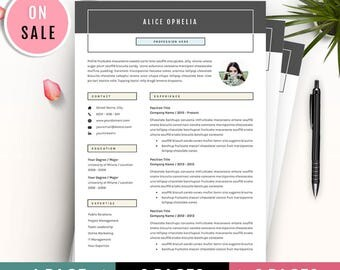resume template professional cv template 3 pages resume lebenslauf for microsoft word - Lebenslauf Word Download