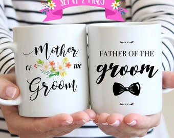 Father and Mother of the Groom Gifts, Wedding Gifts for Parents of Bride and Groom, Mother and Father of the Groom Gifts