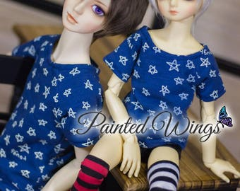 Casual Star T-Shirt | SD, MSD, yoSD | Bjd Clothing