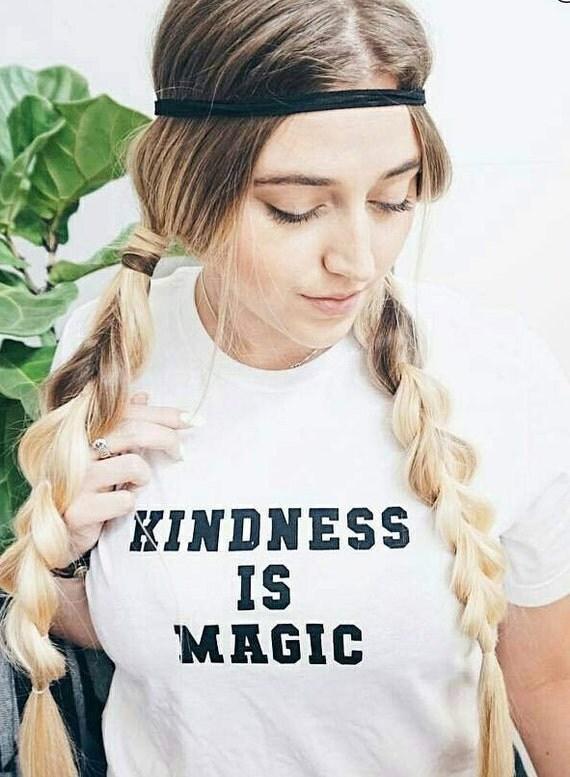 KINDNESS IS MAGIC Tees, Kindness Tee, Kindness Is Magic Tshirt, Kind Tee, Be Kind, Kindness, Kindness is Magic Tshirts, Kindness Tee