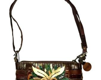 JUST 1. PCS LEFT. Braided handmade shoulderbag/clutch from Octopus Denmark