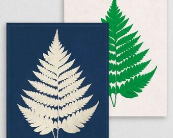 Classic Fern VII- Botanical Decor- Botanical Gifts- Prints for Decor- Botanical Art- Ferns- Nature -Vintage -Vintage Prints -Vintage Art