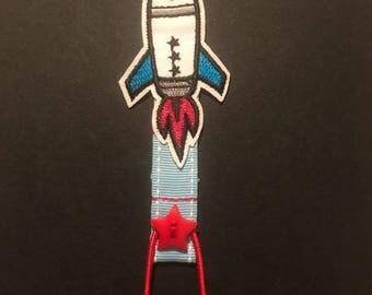 Rocket Ribbon Bookmark
