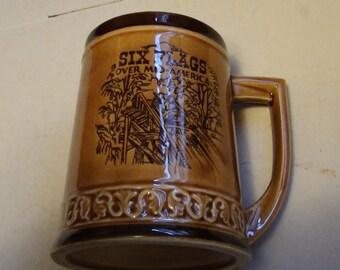 Six Flags over mid america mug
