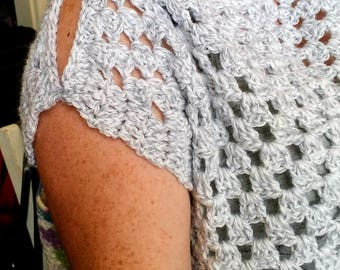 Stylish Summer Crochet Pullover Top