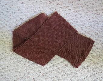 Silk Seed-Stitch Scarf