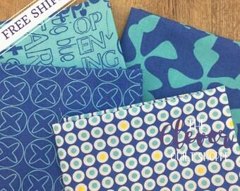 Sphere Custom Bundle, 4pcs, Various Cuts, Zen Chic for Moda Fabrics (100% Cotton Quilting Fabric Yardage)